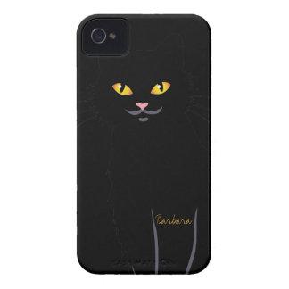 Black Cat Face Blackberry Bold  Case Case-Mate iPhone 4 Case