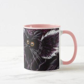 Black Cat Fairy Cat Scaredy Cat Mug
