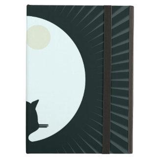 Black Cat Full Moon iPad Air Case