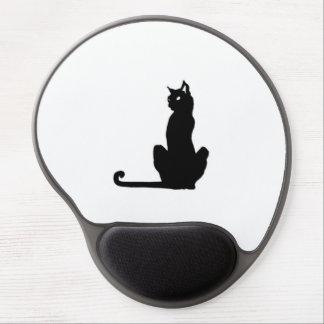 Black Cat Gel Mousepad