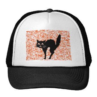 Black Cat - Halloween Cap