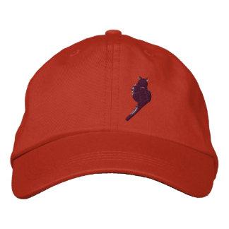 Black Cat Hat Embroidered Cap