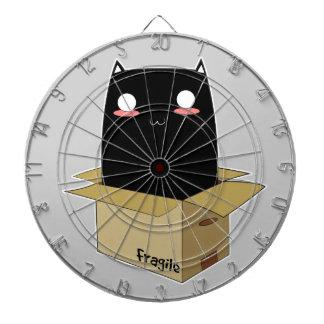 Black Cat in a Box Dartboard