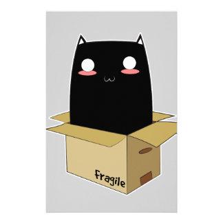 Black Cat in a Box Stationery