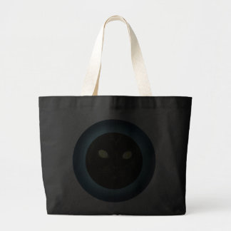Black Cat in the Moon Halloween Totes Bag