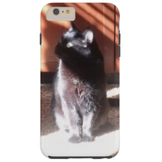 black cat in thought tough iPhone 6 plus case