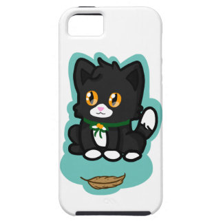 Black Cat iPhone 5 Cover