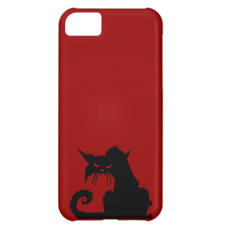Black Cat iPhone 5C Case