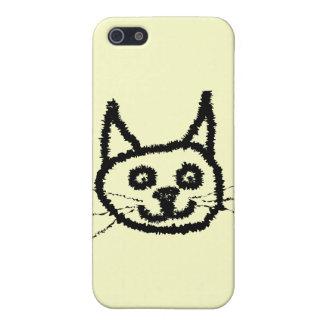 Black Cat iPhone 5 Cover