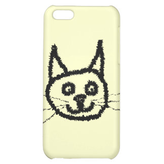 Black Cat iPhone 5C Cover