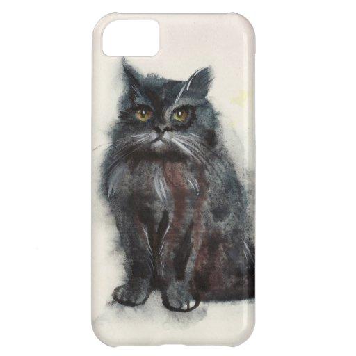 Black cat iPhone case iPhone 5C Case
