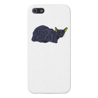 Black Cat iPhone 5 Covers