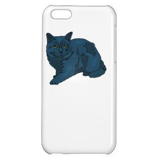 Black Cat Case For iPhone 5C