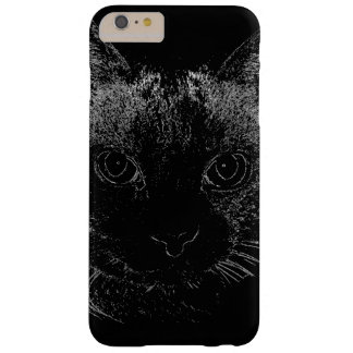 Black Cat iPhone Case Barely There iPhone 6 Plus Case