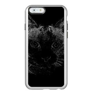 Black Cat iPhone Case Incipio Feather® Shine iPhone 6 Case