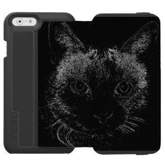Black Cat iPhone Case Incipio Watson™ iPhone 6 Wallet Case