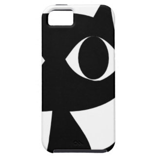 BLACK CAT KITTEN iPhone 5 COVERS