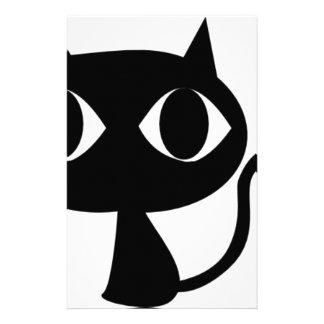 BLACK CAT KITTEN STATIONERY