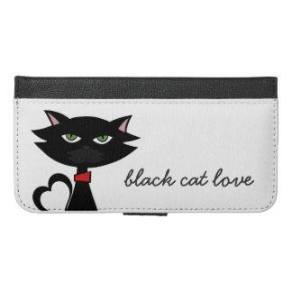 black cat love iphone 6s plus case