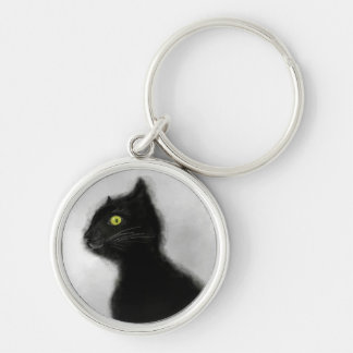 Black Cat Master Premium Key Chain