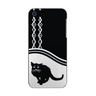 Black Cat mobile phone case Incipio Feather® Shine iPhone 5 Case