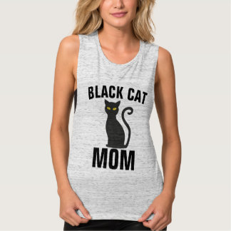 BLACK CAT MOM t-shirts
