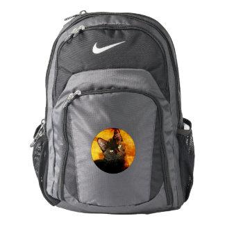 BLACK CAT OLIVE BACKPACK