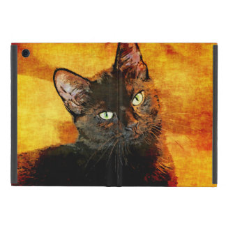 BLACK CAT OLIVE iPad MINI CASE