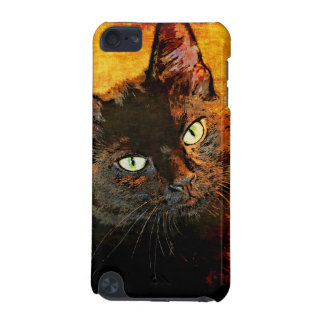 BLACK CAT OLIVE iPod TOUCH 5G CASE