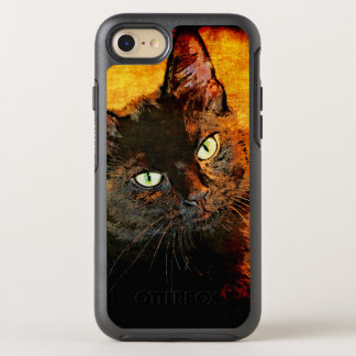 BLACK CAT OLIVE OtterBox SYMMETRY iPhone 8/7 CASE
