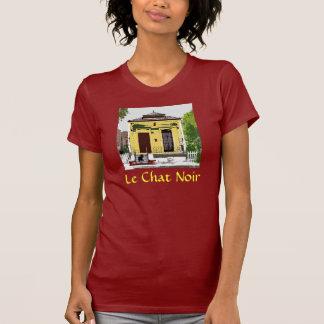 Black Cat on Shotgun House, Le Chat Noir T-Shirt