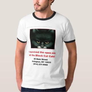 Black Cat Open Mic T-Shirt