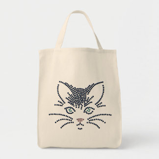 Black Cat Organic Grocery Tote Grocery Tote Bag