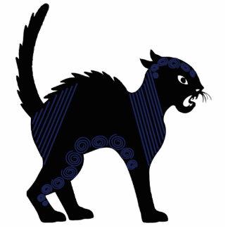 Black Cat - Ornament Sculpture Photo Cutouts