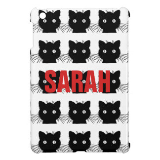 Black Cat Personnalised iPad Mini Covers