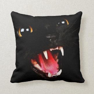 Black Cat  Pillow Throw Cushions