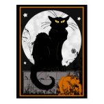 'Black Cat' Postcard