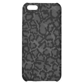 Black Cat Print iPhone 5C Covers
