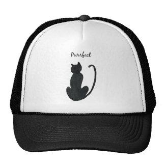 """Black Cat """"purrfect Cap"""