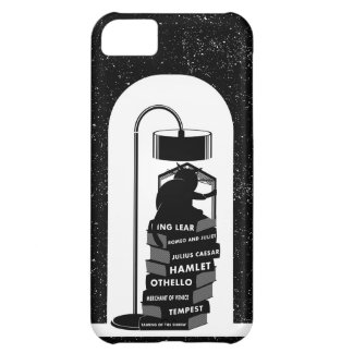 Black Cat Reading Shakespeare Plays iPhone 5C Case