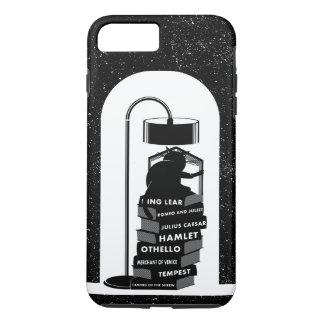 Black Cat Reading Shakespeare Plays iPhone 8 Plus/7 Plus Case