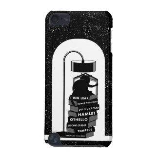 Black Cat Reading Shakespeare Plays iPod Touch 5G Cases