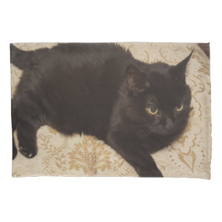 Black Cat Roxie Pillowcase