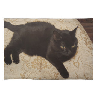 Black Cat Roxie Placemat