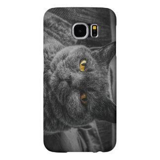 Black Cat Samsung Galaxy S6 Cases