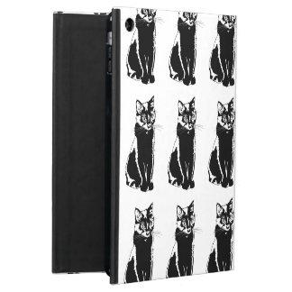 Black Cat Silhouette iPad Air Cover