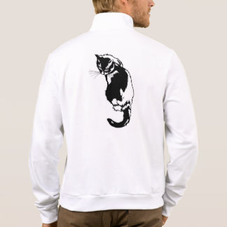 Black Cat Silhouette Jackets