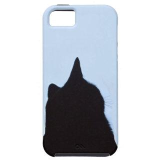 Black Cat Sillouette iPhone case iPhone 5 Cases