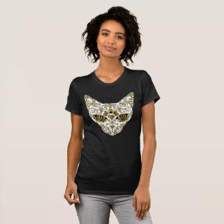 Black Cat Skull Shirts
