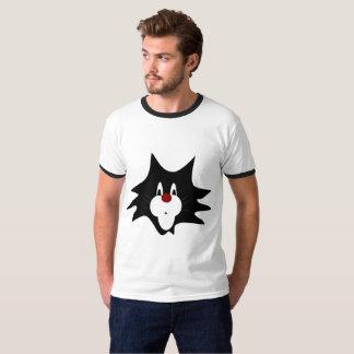 Black Cat Splat T-Shirt